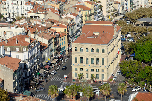 Boulevard「View over Town Hall (1874-77) & Town Square Cannes」:スマホ壁紙(8)