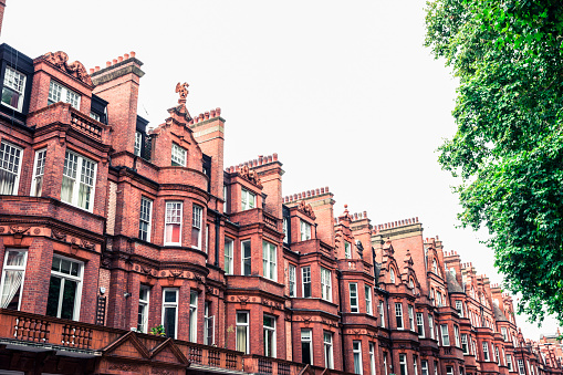19th Century「Magnificent Architecture and Residential Community in London」:スマホ壁紙(2)