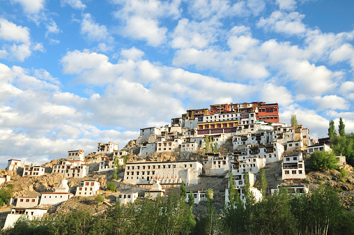 Convent「Magnificent Thiksey Monastery near Leh, Ladakh, India」:スマホ壁紙(9)