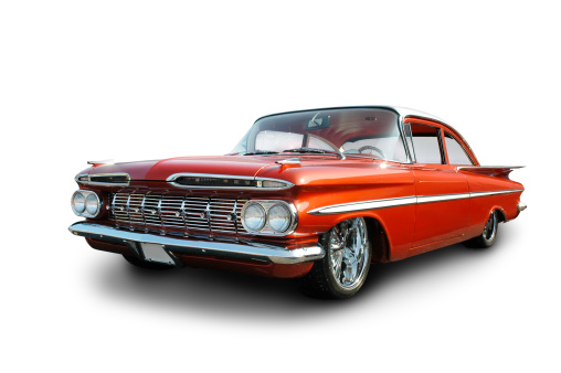 Hot Rod Car「Clean Cruiser - 1959 Chevrolet Impala」:スマホ壁紙(14)