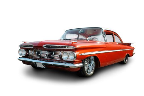 Hot Rod Car「Clean Cruiser - 1959 Chevrolet Impala」:スマホ壁紙(12)
