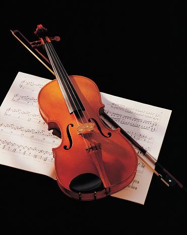 Violin「Violin And Music」:スマホ壁紙(19)