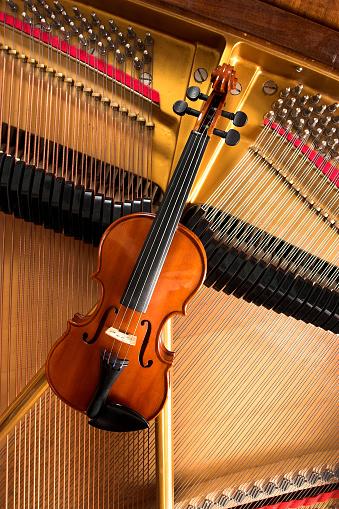 Classical Concert「Violin and piano」:スマホ壁紙(3)