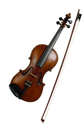 Violin「Violin and Bow」:スマホ壁紙(4)