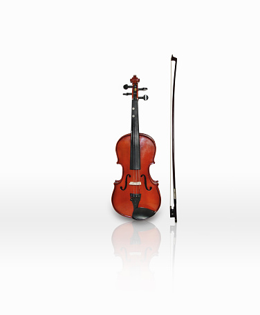 Viola - Musical Instrument「Violin and bow」:スマホ壁紙(2)