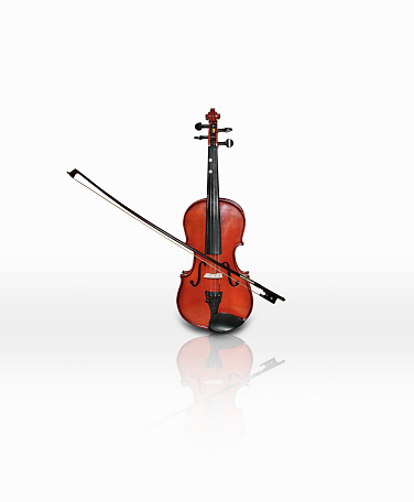 Viola - Musical Instrument「Violin and bow playing」:スマホ壁紙(0)