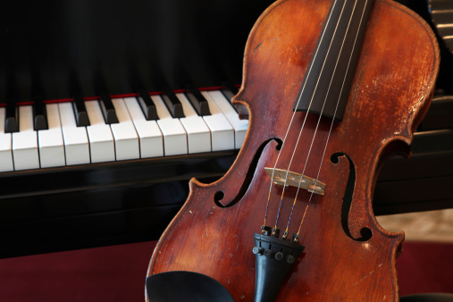 Violin「Violin and Piano Closeup」:スマホ壁紙(13)