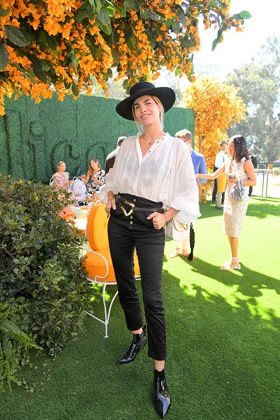 High Waist Pants「10th Annual Veuve Clicquot Polo Classic Los Angeles」:写真・画像(18)[壁紙.com]