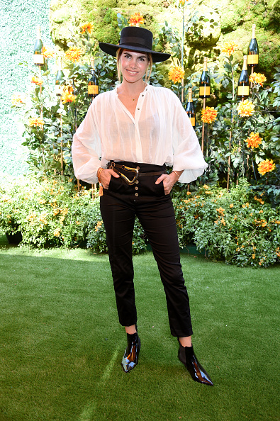Blouse「10th Annual Veuve Clicquot Polo Classic Los Angeles」:写真・画像(5)[壁紙.com]