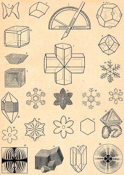 雪の結晶「Crystallography」:写真・画像(1)[壁紙.com]