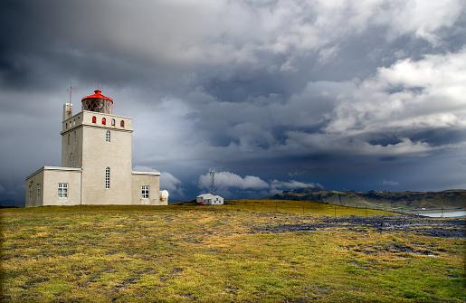 Dyrholaey「Dyrholaey Lighthouse」:スマホ壁紙(11)