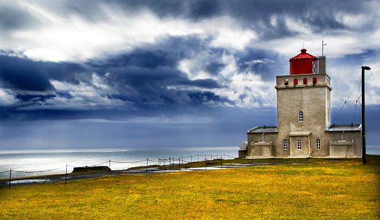 Dyrholaey「Dyrholaey Lighthouse」:スマホ壁紙(10)