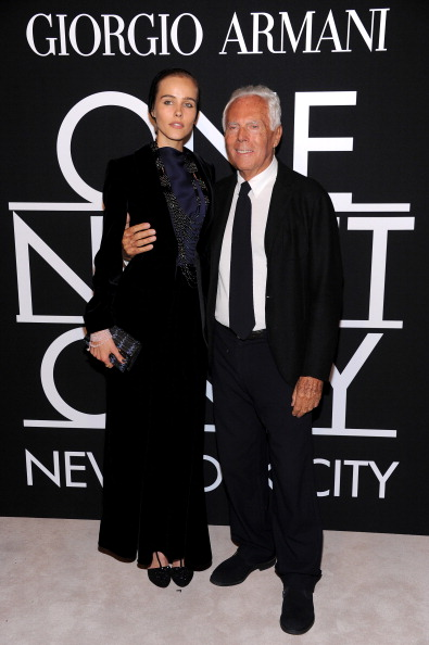 Brand Name「Giorgio Armani - One Night Only NYC - SuperPier - VIP Arrivals」:写真・画像(18)[壁紙.com]