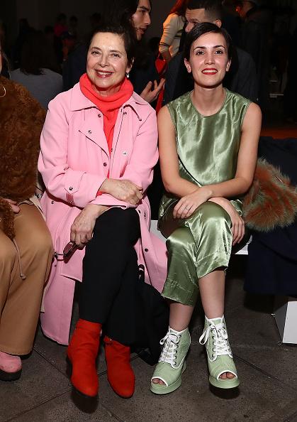 Isabella Rossellini「Sies Marjan - Front Row - February 2018 - New York Fashion Week」:写真・画像(14)[壁紙.com]