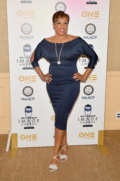 Pencil Dress「49th NAACP Image Awards Nominees' Luncheon - Arrivals」:写真・画像(16)[壁紙.com]