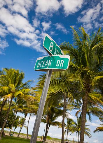 Miami Beach「オーシャン Drive」:スマホ壁紙(19)