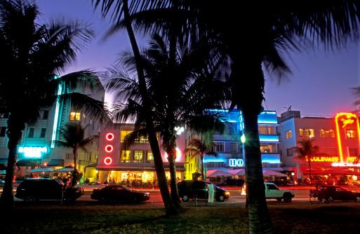 Miami Beach「Ocean Drive, Miami」:スマホ壁紙(15)