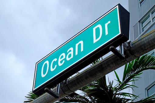 Miami Beach「Ocean Drive Miami Beach Florida」:スマホ壁紙(6)