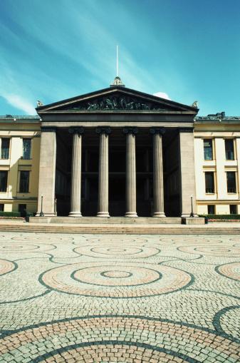 Town Square「Norway, Oslo, Oslo University 」:スマホ壁紙(10)