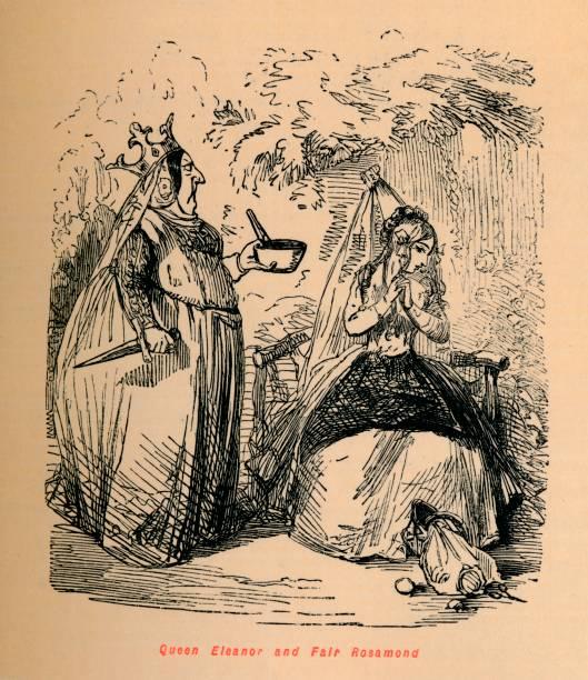 Queen Eleanor And Fair Rosamond Circa 1860:ニュース(壁紙.com)