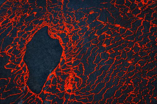 Lava「Eruption, Holuhraun, Bardarbunga Volcano, Iceland」:スマホ壁紙(10)
