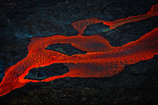 Bardarbunga Volcano「Eruption, Holuhraun, Bardarbunga Volcano, Iceland」:スマホ壁紙(3)