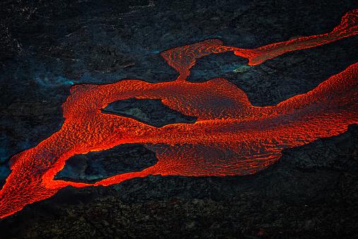Volcano「Eruption, Holuhraun, Bardarbunga Volcano, Iceland」:スマホ壁紙(9)