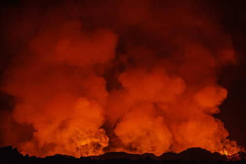 Active Volcano「Eruption, Holuhraun, Bardarbunga Volcano, Iceland」:スマホ壁紙(15)