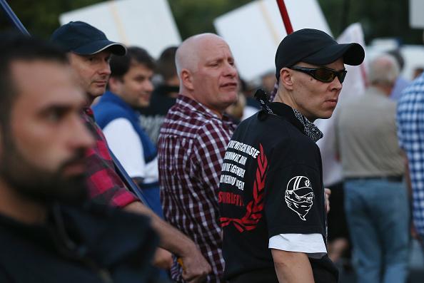 National Landmark「Pegida Supporters March In Berlin」:写真・画像(1)[壁紙.com]