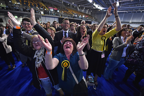 Politics「Counts And Declarations In The Scottish Holyrood Elections」:写真・画像(15)[壁紙.com]