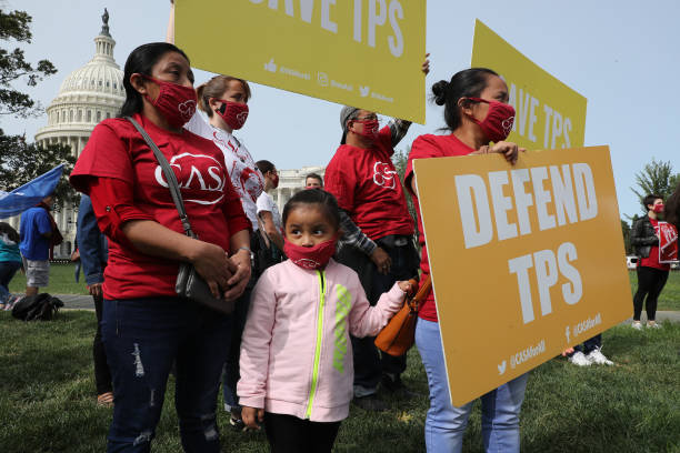 Temporary Protected Status Beneficiaries Hold News Conference On Court Ruling Lifting TPS Injunction:ニュース(壁紙.com)