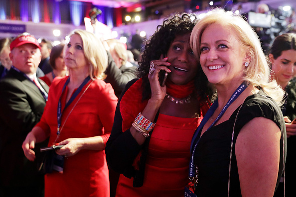 2016 United States Presidential Election「Republican Presidential Nominee Donald Trump Holds Election Night Event In New York City」:写真・画像(16)[壁紙.com]