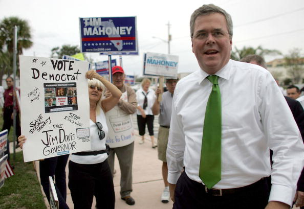 Stuart - Florida「Gov. Jeb Bush Campaigns With Joe Negron」:写真・画像(11)[壁紙.com]