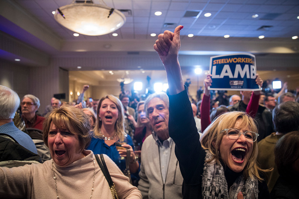 Pennsylvania「Democratic Congressional Candidate Conor Lamb Holds Election Night Event」:写真・画像(13)[壁紙.com]