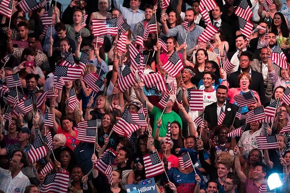2016年アメリカ大統領選挙「Hillary Clinton Holds Primary Night Event In Brooklyn, New York」:写真・画像(10)[壁紙.com]
