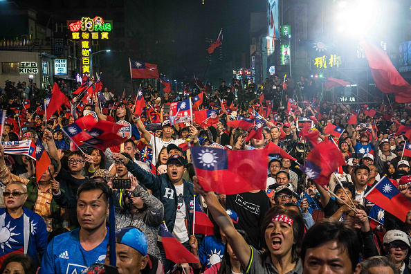 Taiwan「Tsai Ing-wen Campaign as Taiwan Election Approaches」:写真・画像(13)[壁紙.com]