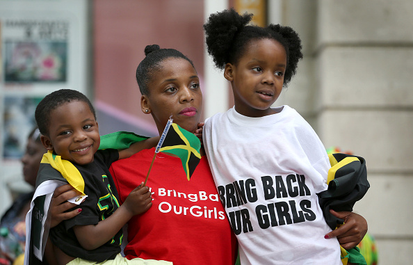 Kidnapping「Demonstration Outside Nigerian Embassy In London Over Abduction Of Schoolgirls In Nigeria」:写真・画像(15)[壁紙.com]