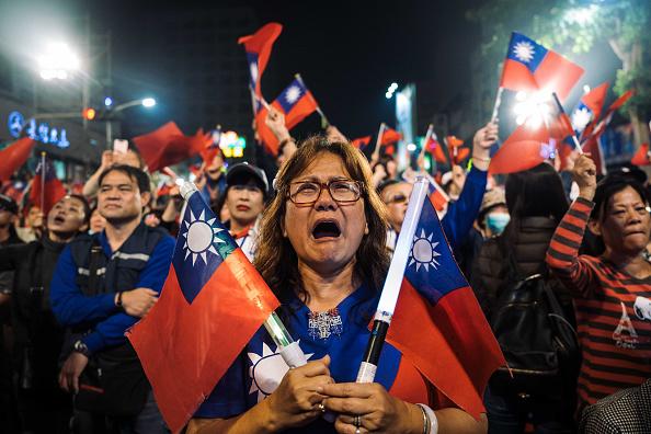 Taiwan「Tsai Ing-wen Campaign as Taiwan Election Approaches」:写真・画像(4)[壁紙.com]