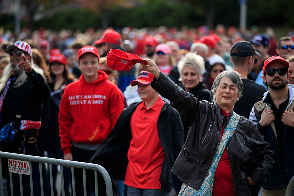 MAGA「President Trump Holds Campaign Rally In Chattanooga, Tennessee」:写真・画像(6)[壁紙.com]
