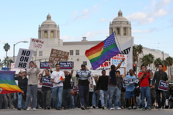 USA「Daily Marches To Save Gay Marriage Continue In California」:写真・画像(15)[壁紙.com]