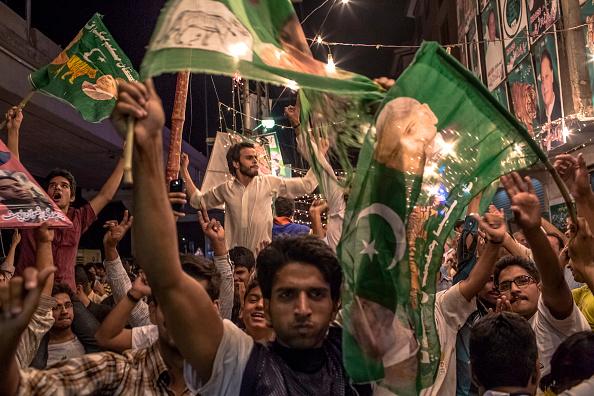 Pakistan「Pakistanis Vote In General Election」:写真・画像(11)[壁紙.com]