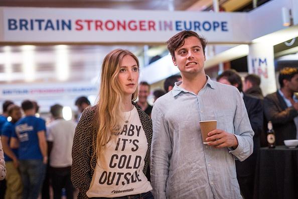 Brexit「Stronger In Campaign Gather Together To Wait For The Eu Referendum Result」:写真・画像(13)[壁紙.com]