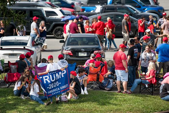 MAGA「Donald Trump Holds MAGA Rally In Johnson City, Tennesee」:写真・画像(12)[壁紙.com]
