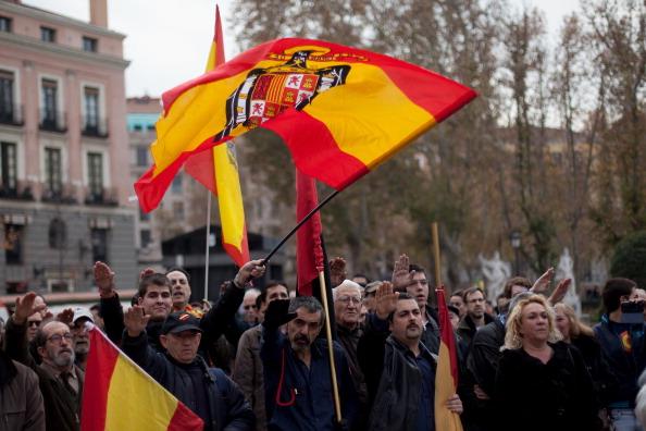 Madrid「37th Anniversary Of Former Dictator General Francisco」:写真・画像(16)[壁紙.com]