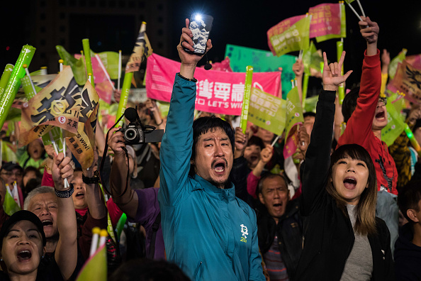 Billy H.C「Tsai Ing-wen Campaign as Taiwan Election Approaches」:写真・画像(7)[壁紙.com]