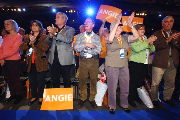 Support「CDU Final Election Campaigning For Federal Elections」:写真・画像(10)[壁紙.com]