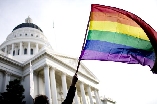 LGBTQI Rights「Rally On Steps Of California State Capitol Protests Passage Of Prop 8」:写真・画像(5)[壁紙.com]