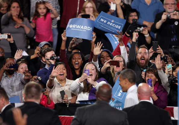 Florida - US State「Obama Rallies Supporters In Battleground State Of Nevada」:写真・画像(2)[壁紙.com]