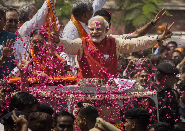 India「BJP Leader Narendra Modi Campaigns In Gujarat」:写真・画像(11)[壁紙.com]
