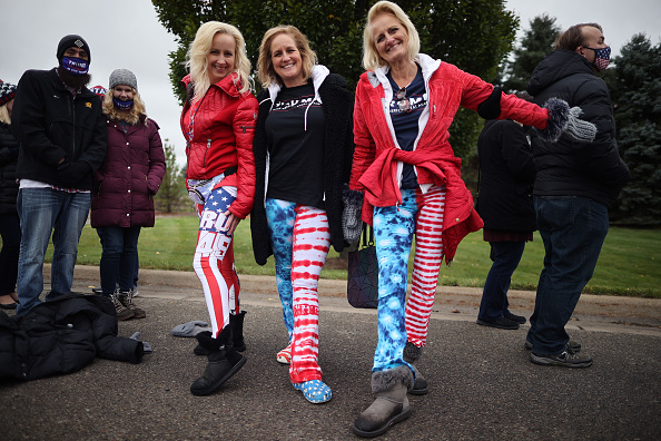 Homemade「Donald Trump Campaigns For Re-Election In Michigan」:写真・画像(6)[壁紙.com]